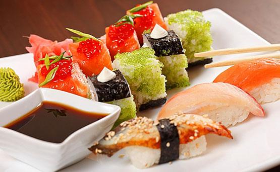 Какие суши заказать на доставку ночью