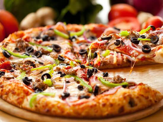 Заказать пиццу с доставкой, круглосуточно