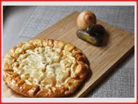 Пирог с солеными огурчиками