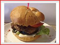 Гамбургер с курочкой